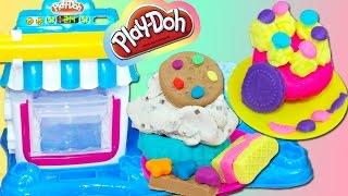 Double Dessert plastilina cupcakes Play Doh playset playdough toy