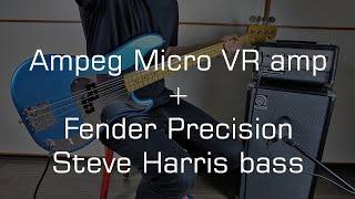 Ampeg Micro VR + Fender Precision Steve Harris