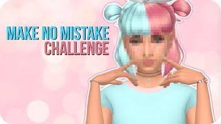 MAKE NO MISTAKE CHALLENGE 🙈 - The Sims 4