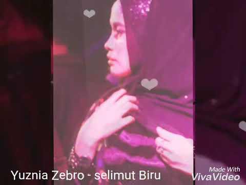 Yuznia Zebro - selimut Biru