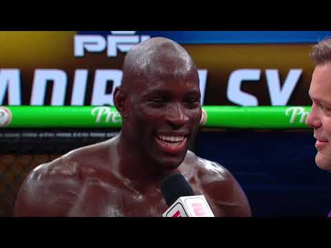 Sadibou Sy  Post Fight Interview | PFL 5, 2021