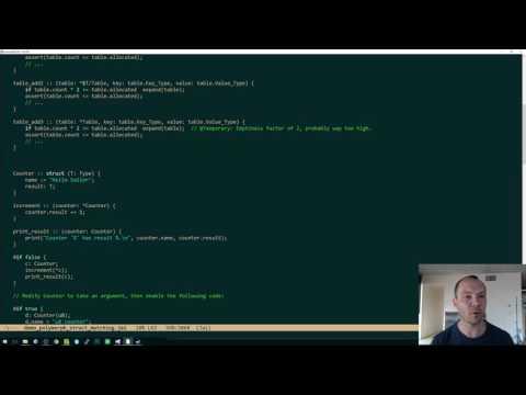 Demo: Implicit Polymorphism, Stronger Type_Info, Identifier Backslashes