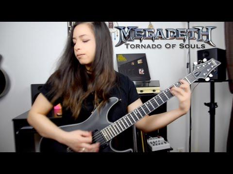 Tornado Of Souls - MEGADETH (guitar cover)