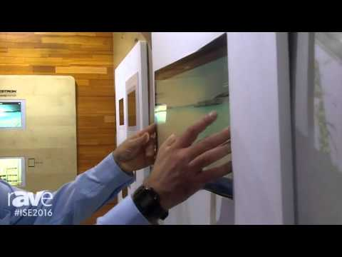 ISE 2016: Wall-Smart Exhibits In-Wall Flush Mount for Crestron TSD-2020