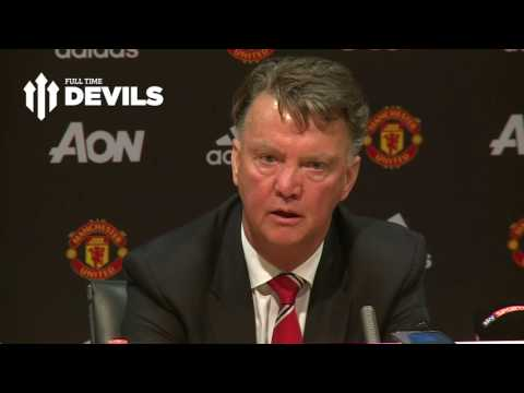 Louis van Gaal Post Match Presser | Manchester United 3-1 Bournemouth | 'I Have a 3 Year Contract!'