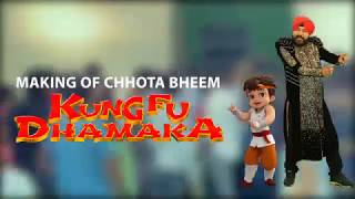 Making of Bheem Karega Kung Fu Dhamaka Song