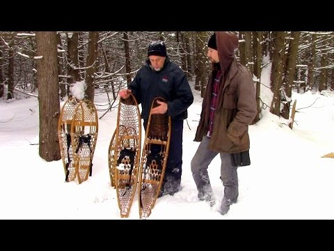 Snowshoes- Rugged winter hiking is impossible without them