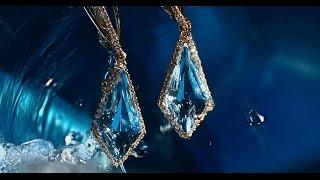 """Видео из серии рекламных роликов для ювелирной компании """"Золотая Русь""""  – Синий цвет"""