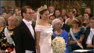 Vigselakten mellan Daniel och Kronprinsessan Vicoria 19 juni 2010
