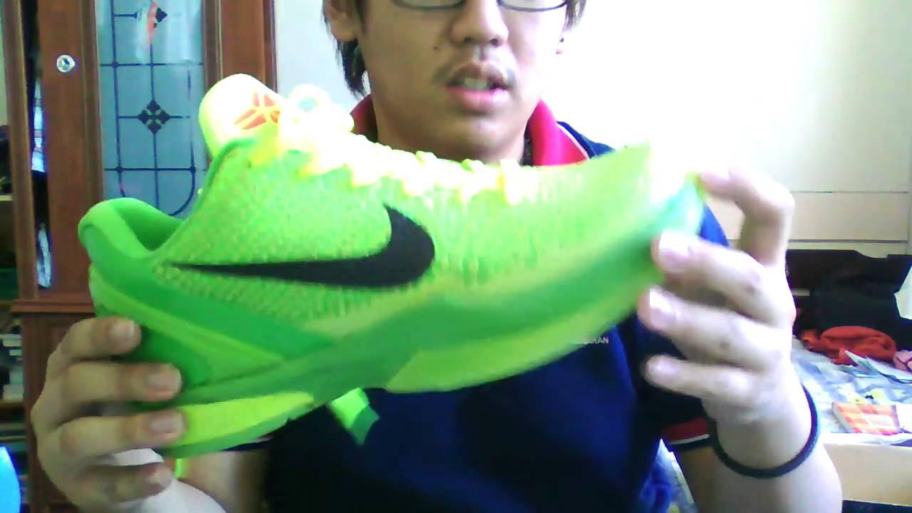 Nike Zoom Kobe 6 Grinch/Christmas unboxing - YouTube