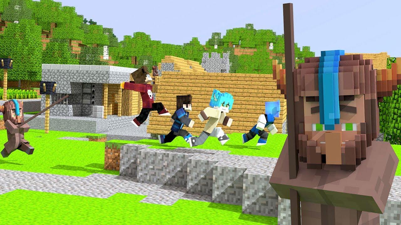 Animation Dân làng Demo