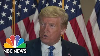President Trump Defends Decision To Take Hydroxychloroquine To Prevent COVID-19 | NBC Nightly News