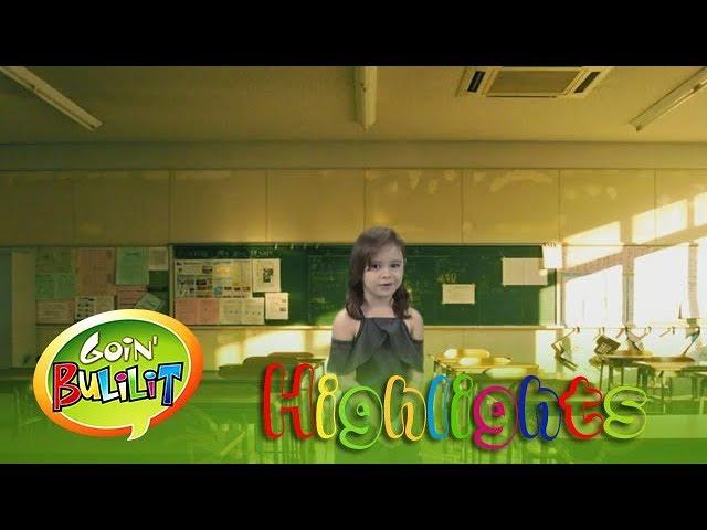 Goin' Bulilit: Goin Bulilit kids jokes about school subjects