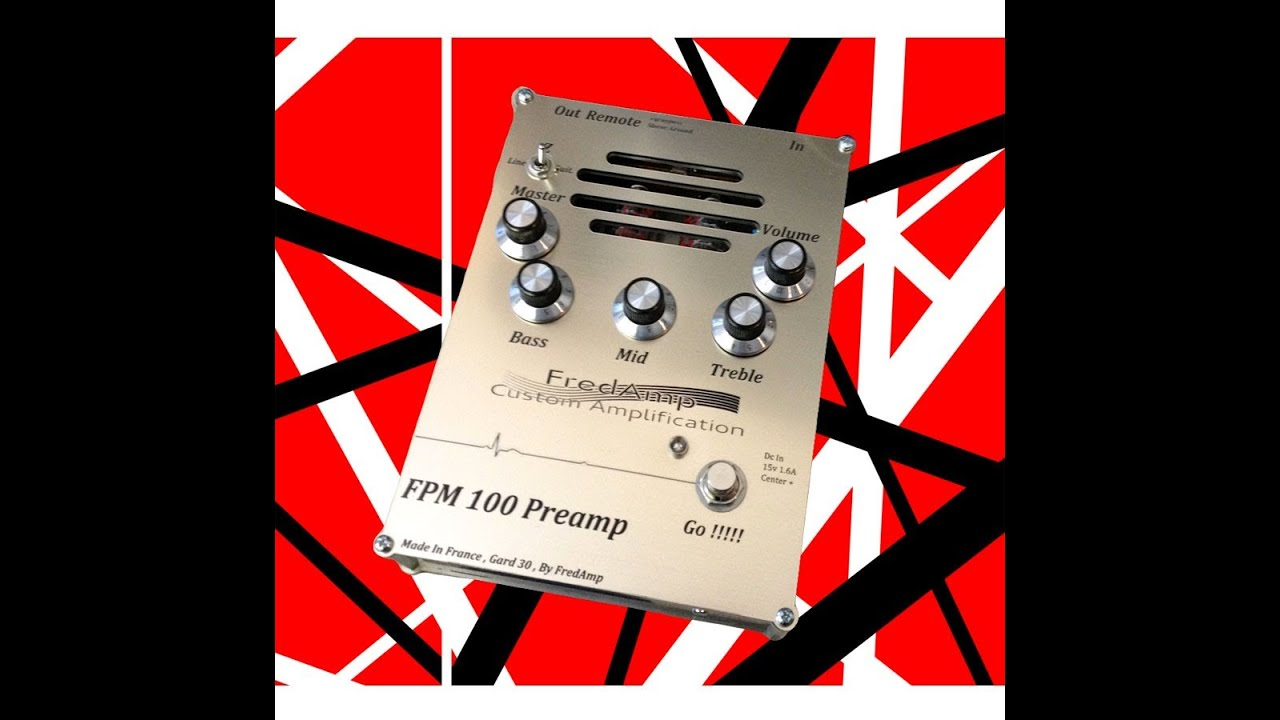Rig-Talk • View topic - FredAmp full tube preamp pedal with