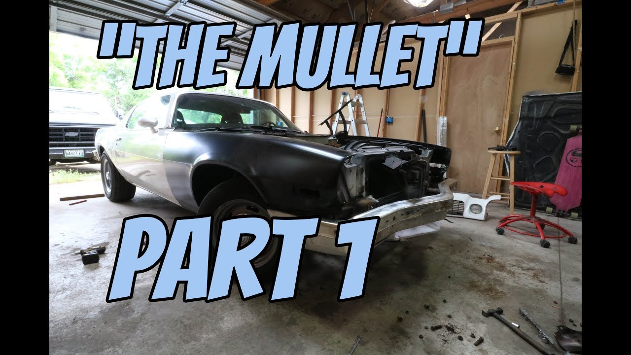 '76 Camaro Pro-Touring Build Part 1 | Bumper Tuck and Front End Tear Down