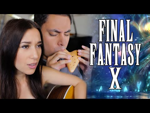 Suteki Da Ne (English Cover) - Final Fantasy X - Ocarina || David Erick Ramos ft. Emanuela Bellezza