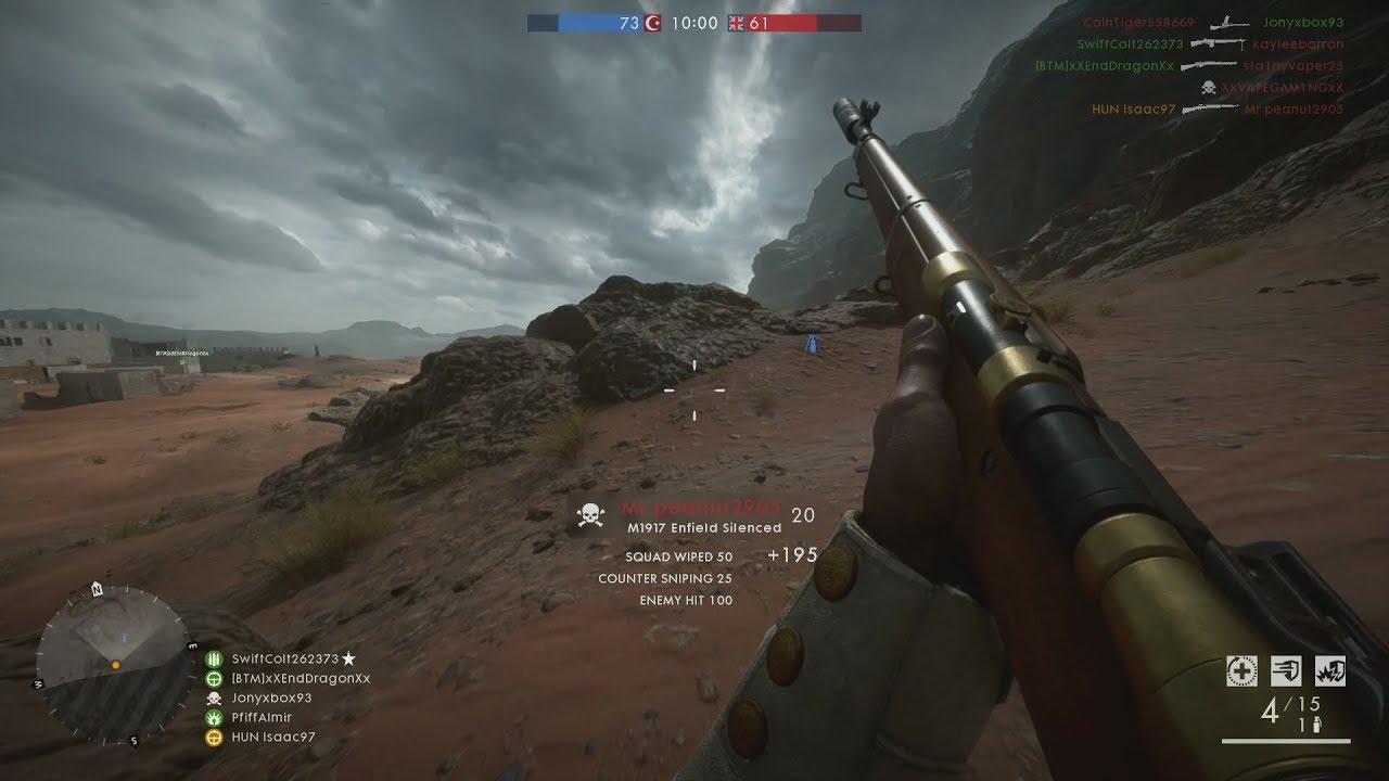 Battlefield 1: Team Deathmatch Gameplay (No Commentary)