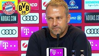 Leroy Sané fällt aus | FC Bayern Pressetalk mit Hansi Flick vor dem Supercup gegen Borussia Dortmund