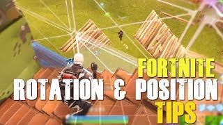 Fortnite How To Win | POSITION and ROTATION TIPS | #30