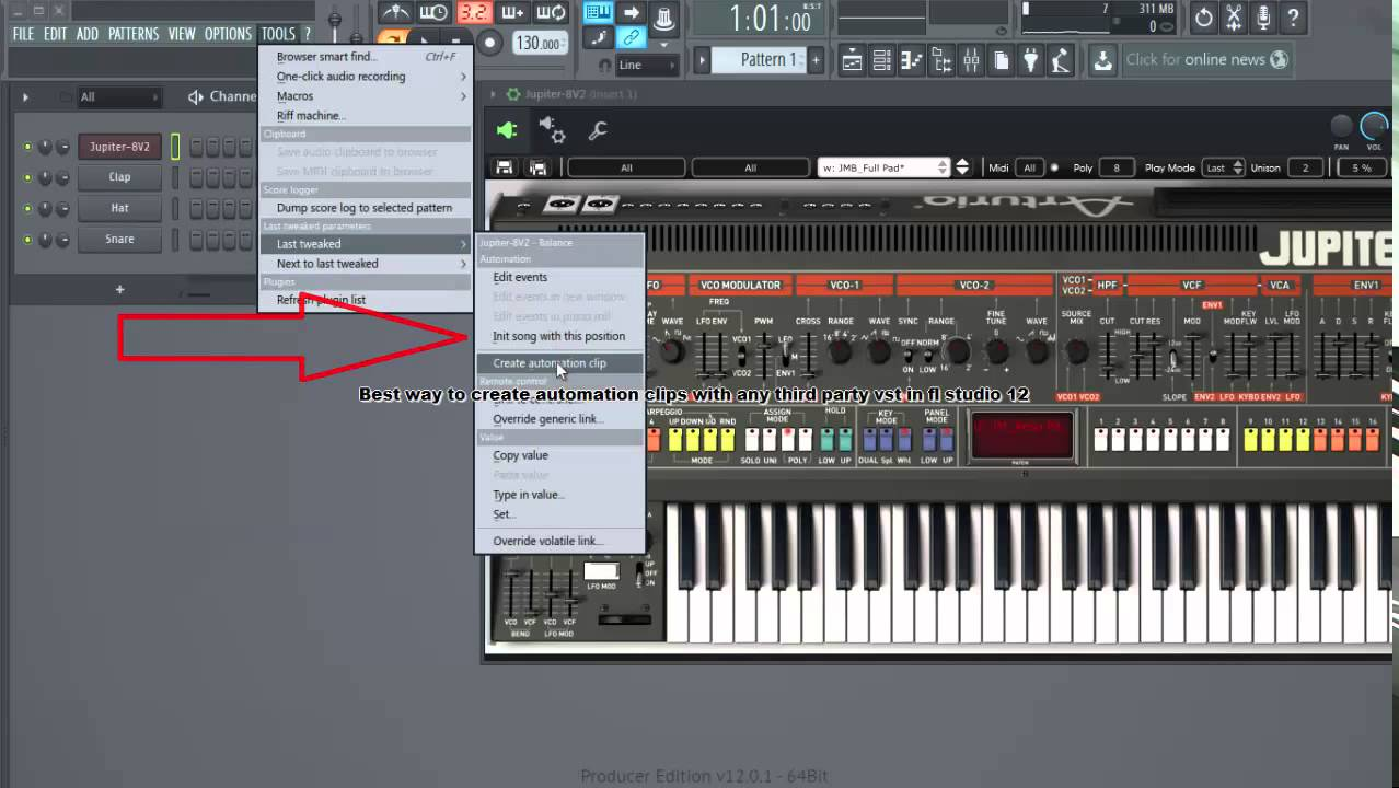 fl studio vst instruments