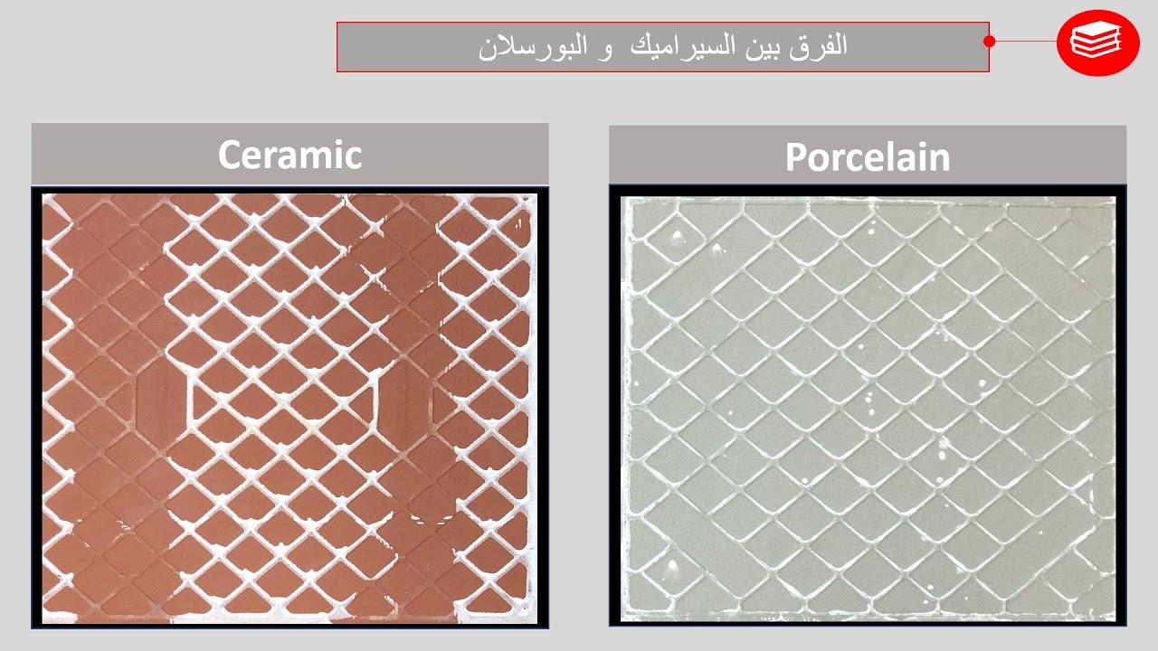 Ceramic Vs Porcelain Part 01 الفرق بين السيراميك والبورسلان مهندس احمد عبدالباقى سليمان Youtube