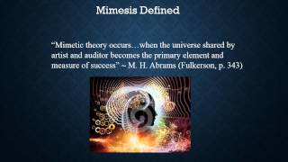 Mimetic Theory PPT New
