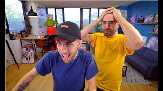 Réaction complète de Cyprien et Squeezie (Youtube Warrior 4)