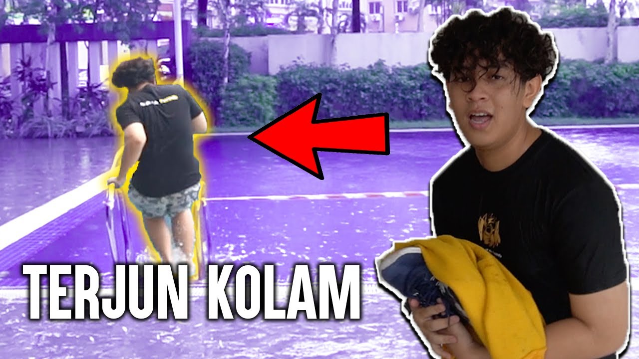 ULTIMATED TRUTH OR DARE! AKU KENA TERJUN KOLAM!