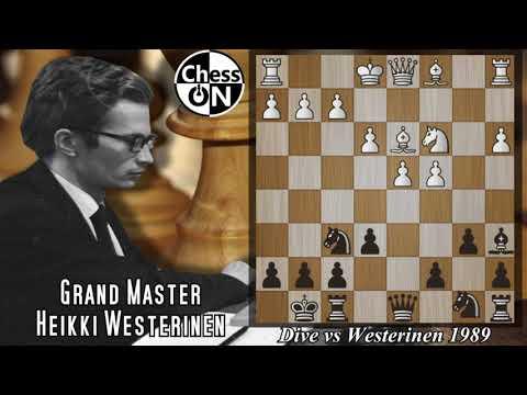 Best Chess Games Ever! Dive vs Heikki Westerinen 1989