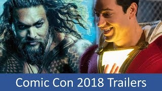 COMIC CON 2018 Trailer Compilation All Movie Trailers from the SDCC 2018