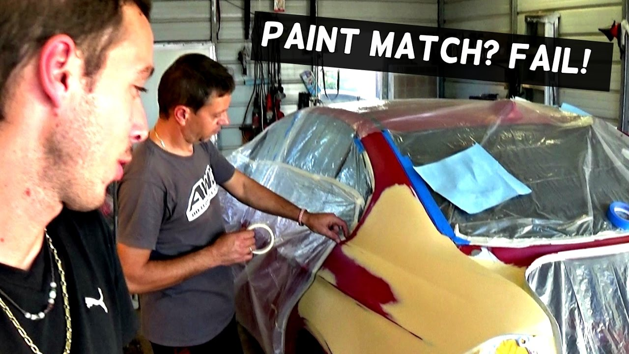 How To Blend Paint Patches On A Car