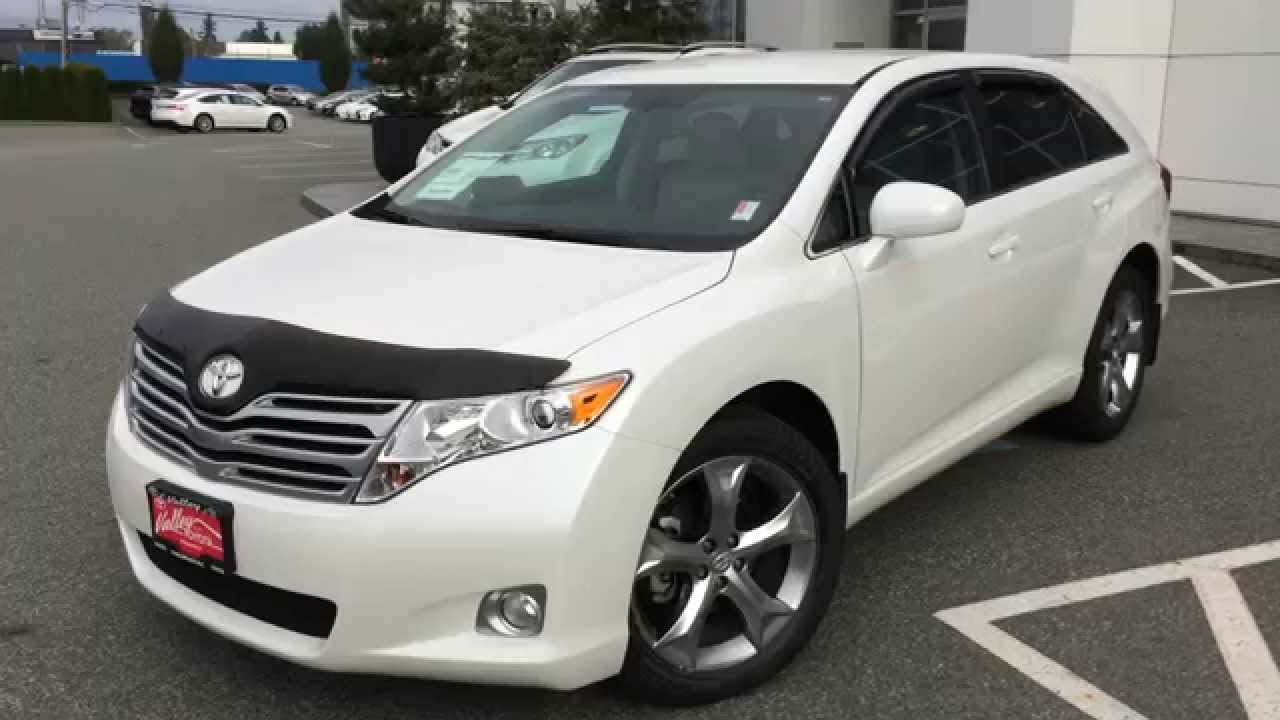 sold 2011 toyota venza preview for sale at valley toyota scion in chilliwack b c 15104a