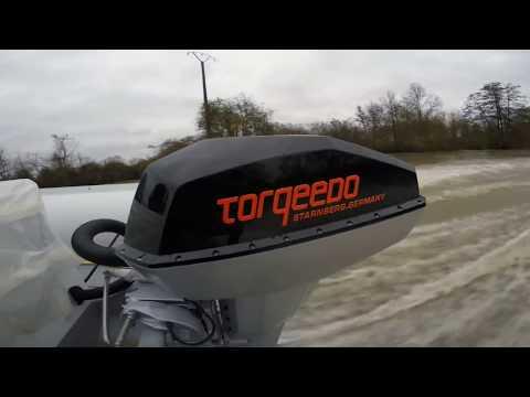 Подвесной электромотор Торкидо Torqeedo Deep Blue