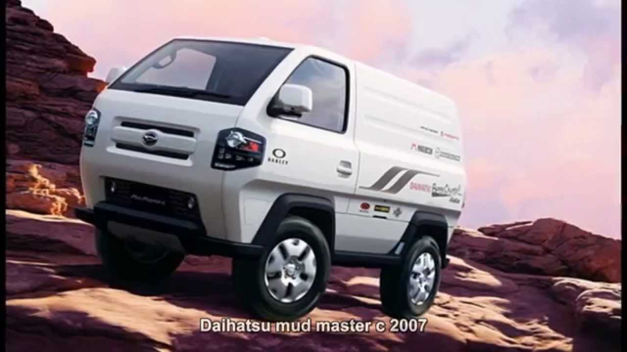 How To Get Car Out Of Mud >> #2888. Daihatsu mud master c 2007 (Prototype Car) - YouTube