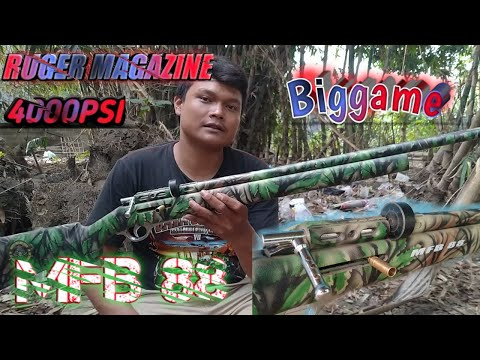 Pcp Ruger magazine Big Game 4000psi ll Review Pcp Ruger magazine Terbaru ll MFB 88 AIRRIFLE