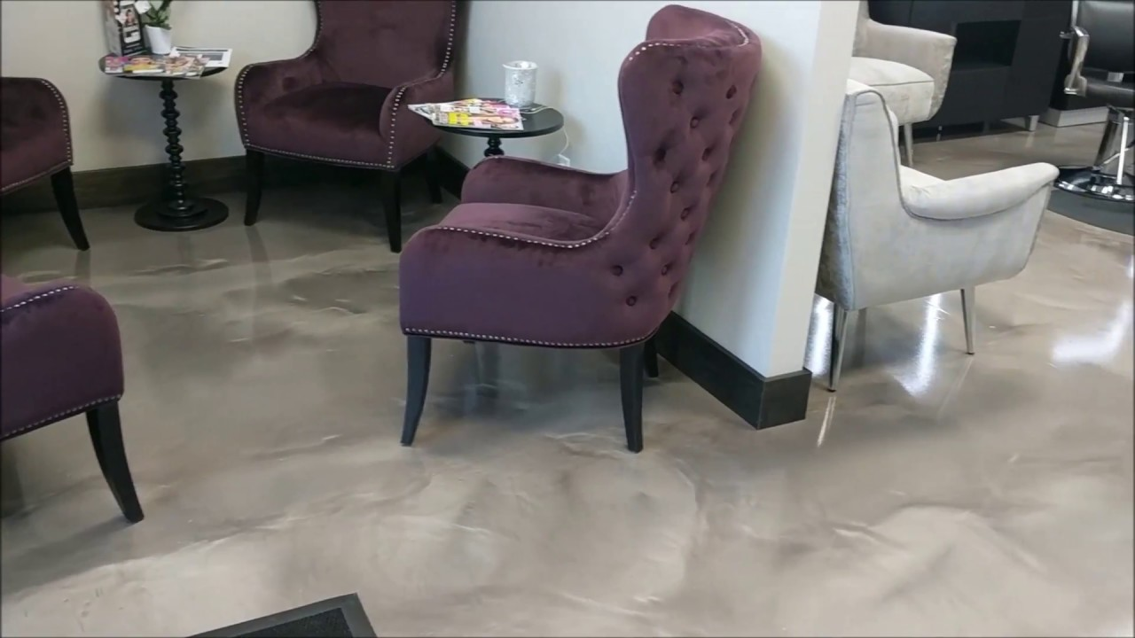 Decorative epoxy flooring for hair salon commercial flooring decorative epoxy flooring for hair salon commercial flooring premier concrete columbus ohio doublecrazyfo Choice Image
