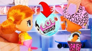 LOL Surprise Dolls Shopping Trip with Playmobil Sets & Unboxings