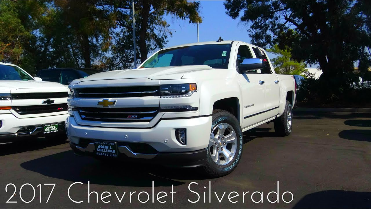 2017 chevrolet silverado 1500 ltz 5 3 l v8 review youtube. Black Bedroom Furniture Sets. Home Design Ideas