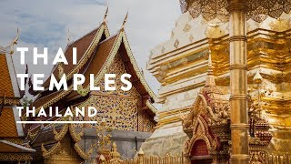 THAILAND TEMPLE | Chiang Mai Travel Vlog 047, 2017