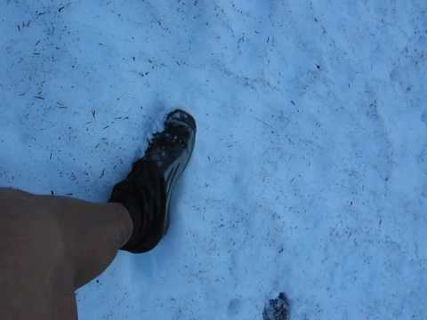 Footwear & foot care for early season conditions Andrew Skurka