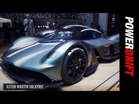 Aston Martin Valkyrie : Geneva Motor Show : PowerDrift