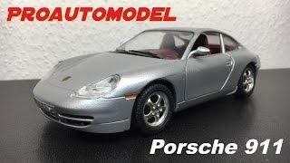 Обзор Porsche 911 от Bburago / Scale car Porsche 911 1:24 [ proautomodel ]
