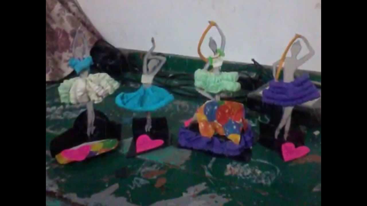 Bailarinas manualidad regalo que di el d a del amor y la - Regalos originales para la casa ...