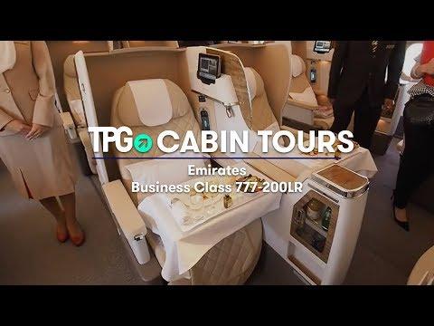 Cabin Tour: Emirates 777-200LR Business Class