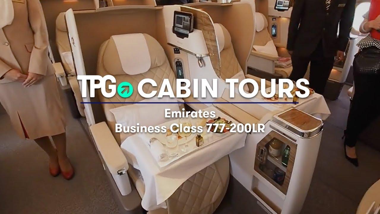 Cabin Tour Emirates 777 200lr Business Class