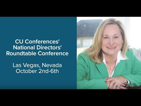 Celeste Cook speaking at CU Conference's National Directors Roundtable Conference