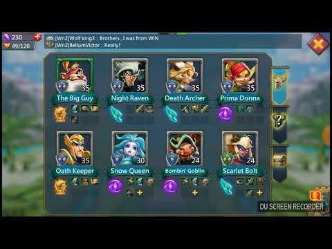 Lords Mobile Ep.4 Hero Leveling