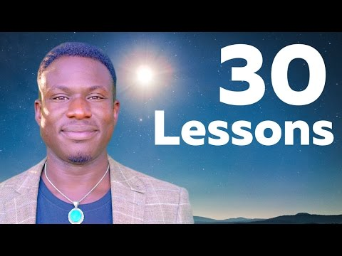 30 Life Lessons I Learned In 30 Years