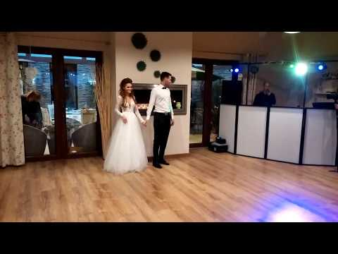 Wyjątkowy pierwszy taniec zdolnej pary! Asia i Dominik 2017/Best wedding dance All of me/Chantaje