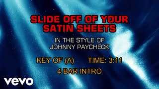 Johnny Paycheck - Slide Off Of Your Satin Sheets (Karaoke)